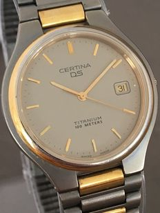 Certina DS Titanium men's wristwatch - Approx. 1990s