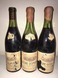 1971 Vosne Romanée Charles Noellat 'Les Genevrieres' – 3 bottles in total