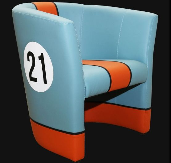 Porsche 917K - Club Chair on the theme of the famous N21 car