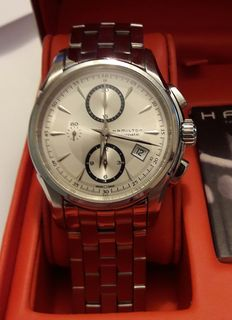 Hamilton Jazzmaster Automatic Chronograph H326160 – Men's wristwatch.