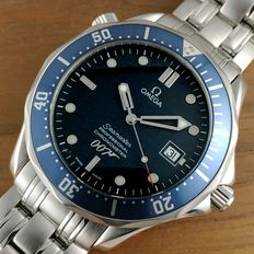 Omega 40 Years 007 James Bond Limited Edition Seamaster - herenhorloge