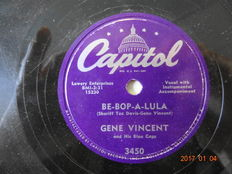 21 x 78 rpm records Rock & Roll and Popmusic from the 50 ' ties.
