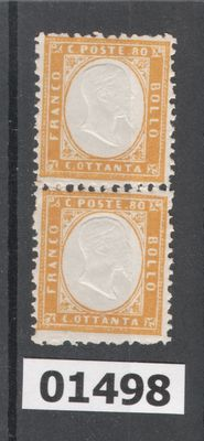 Kingdom of Italy – 1862 – small lot – #1 and #4