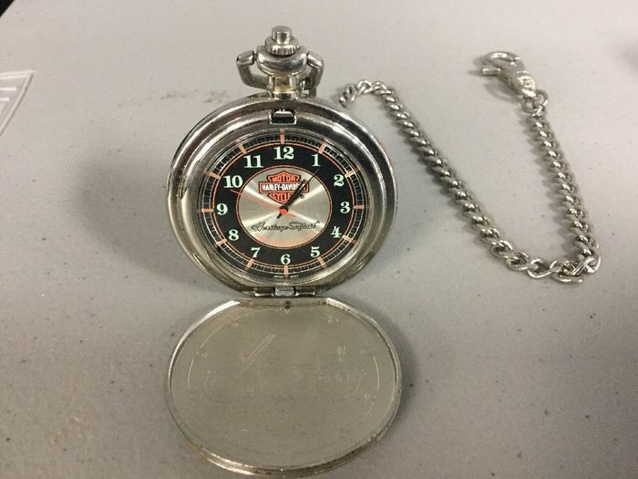 Harley Davidson Heritage Softail Pocket Watch