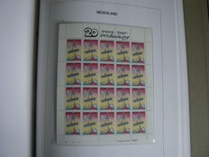The Netherlands 1970/2001 – Collection in 2 DAVO LX albums, incl. sheets of 10.