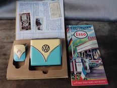 VW Bully set - and old ESSO map.