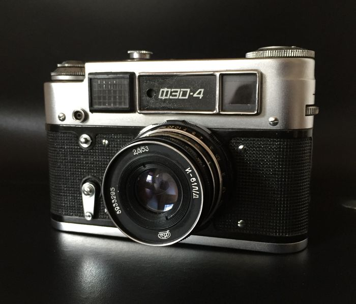 FED-4 with Industar-61 L/D (1970's, USSR) - Tested with film