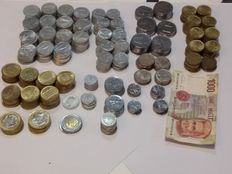 Italy, Republic - Lot of 543 coins and 1 note.