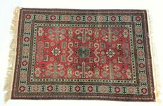 Hand knotted Ardabil rug, 1960