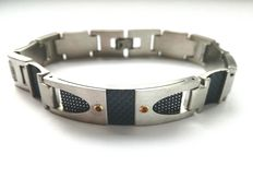 H°°O Carbon Design bracelet by Enrico Martina, Italy