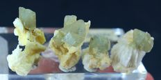 Extremely Rare Damage Free Herderite Crystals on Matrix - 32Gram (4)
