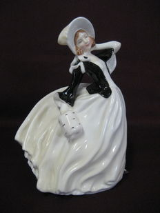 L.Harradine voor royal doulton - autumm breeze HN2147