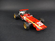 Hotwheels - Scale 1/43 - Ferrari 312 F1 #26 Winner French GP Rouen 1968 - Signed by Racing Driver Jacky Ickx at Goodwood 2016 Meeting