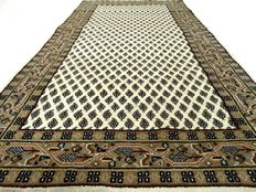 """Mir - 159 x 86 cm - """"Light carpet in virtually """"not-walked-on"""", top condition"""" - please note! No reserve: starts at €1,-!"""