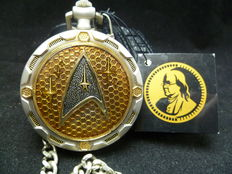 Franklin Mint Star trek zakhorloge met houder