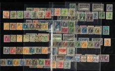 Luxembourg 1914/1928 – Selection of stamps and series – Michel 92/207B