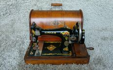 Singe 128K - Antique Sewing Machine - 1913, Clydebank Scotland