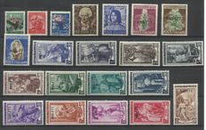 Trieste A – Selection of complete series and odd lots.