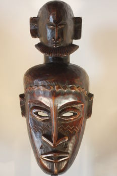 A Bambara tribe mask – Mali (West-Africa, Savannah) – 41 cm
