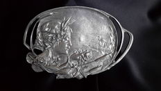 Pewter dish, made from 92% etain