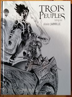 Trois Peuples vol.1 / 2 - Intégrale + 2x bookplate - triptych - C - first edition (2013)