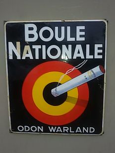 Emaillen bord BOULLE Nationale