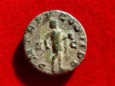 Roman Empire - Gordian III (238-244 A.D.) bronze as (8,60 g. 22 mm.), Rome, 241-243. PM TR P V COS II P P. Emperor advancing right.