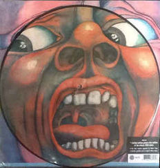 King Crimson ‎–  2 Limited Picture Disc -In The Court Of The Crimson King (An Observation By King Crimson)  and Cyclops