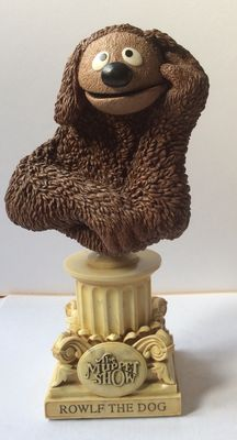 The Muppets - WETA - bust - The Muppet show 25 years - Rowlf the dog - Jim Henson - No. 459/5000