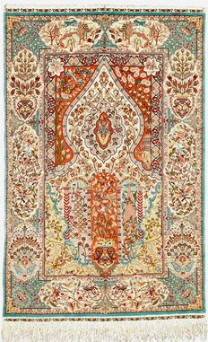 TURKISH SILK HEREKE  2 000 000 KNOTS/M²