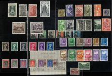 Luxembourg 1935/1938 – Collection of stamps and series – Michel 265/320