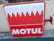 Motul - double-sided light box - 81 x 81 x 17 cm - 220V - mint condition