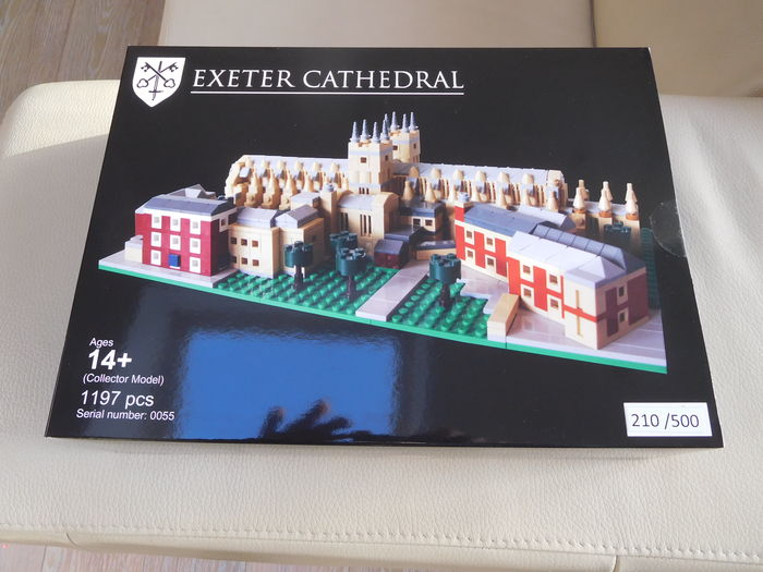 LEGO Certified Professional - Exeter Cathedral - Large model, 1197 pcs. - Number 210 of 500