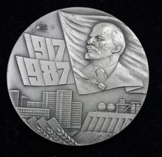 Russia/USSR - Medal 1987 70 Years of the Great October Socialist Revolution