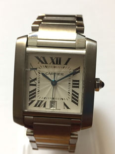 French Cartier Tank – Unisex watch – 2004