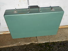 Lama - Suitcase with folding picnic table - 1950/60s