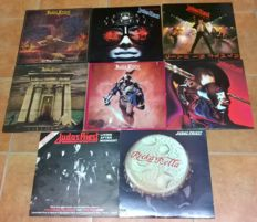 Judas Priest collection of 9 records