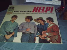 "THE Beatles  -""HELP!"" :   1 German LP for the Swis Market on /Yellow Odeon Label  + 1 LP USA-Edition on Capitol Label"