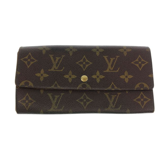Louis Vuitton—International Long Monogram wallet