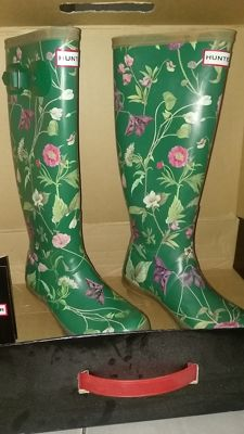 Hunter – Floral boots