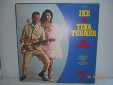 Ike and Tina turner  ''lot of 12 albums  incl 2 double albums''