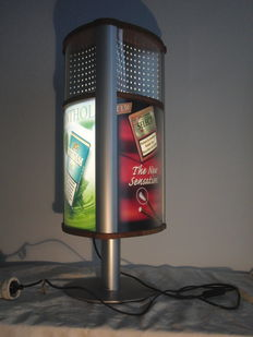 advertising column/display - with lighting