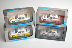 Minichamps - Scale 1/43 - Lot with 4 models: 4 x Mercedes-Benz 190 E 2.5-16 DTM Rarities
