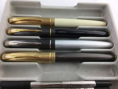 """4 Parker 100  """"pre production"""" rollerball"""