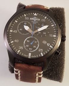 Aeromeister 1880 Taildragger AM8010 Chronograph - Wristwatch - 2016, never worn