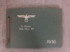 WW2 photo Album of a German soldier of the 3rd Company infantry Rgt 59