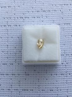 Natural Diamond Fancy Deep Yellow color 1.02 cts