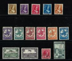 Luxembourg 1934/1935 – Two complete years – Michel 250/264