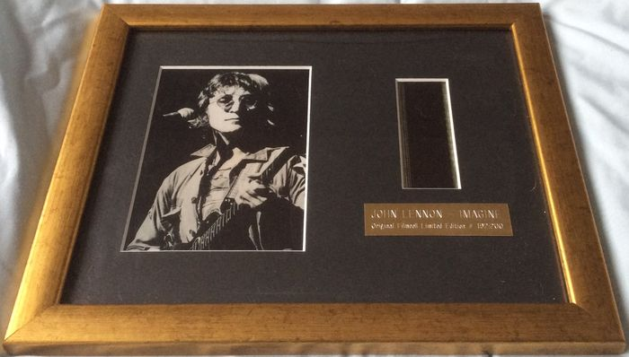 The Beatles : Imagine :Original filmcell limited edition 192/200 - framed