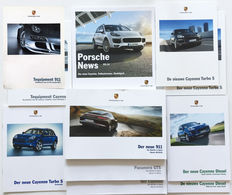 Collection of 11 Porsche brochures. 2006-2014.